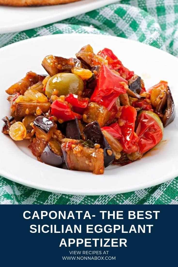Photo of Caponata Recipe – The Best Sicilian Eggplant Appetizer