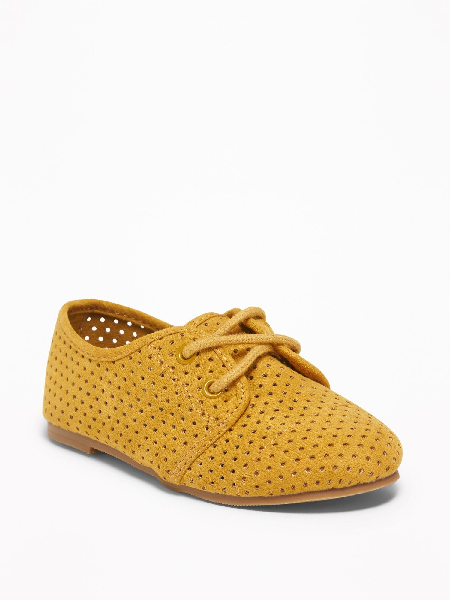 Faux-Suede Oxfords for Toddler | Girls