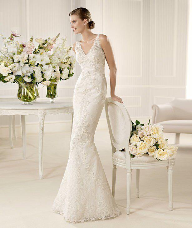 Modelo de vestidos de novia 2013
