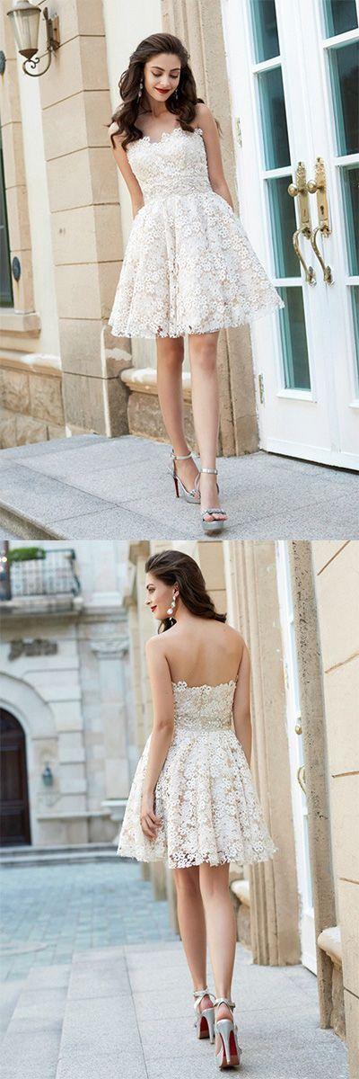 82530d76914 A-Line Princess Sweetheart Homecoming Dresses