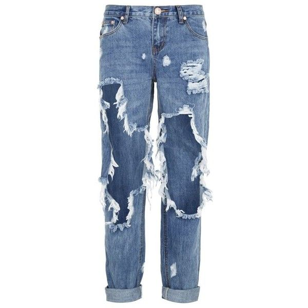 One Teaspoon Awesome Baggie Jeans (3,155 MXN) ❤ liked on Polyvore featuring  bags,