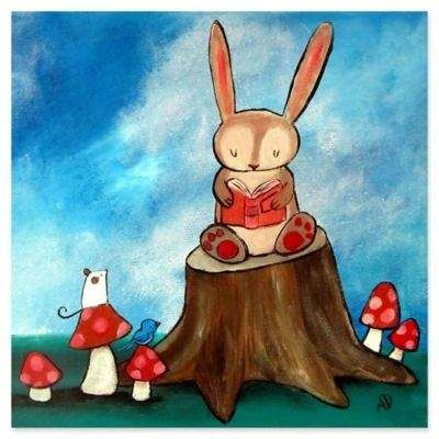 story Marmont Hill Bunny 24Inch x 24Inch Canvas Wall Art