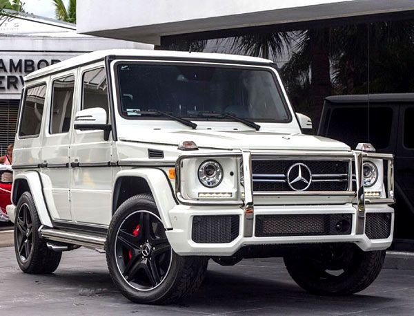 2014 Mercedes Benz G Class 5 5l Twin Turbo V8 Mercedes Benz G