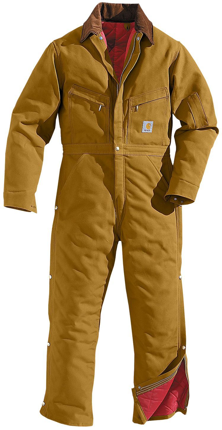 carhartt lined duck coveralls for men bass pro shops on insulated overalls for men id=35262