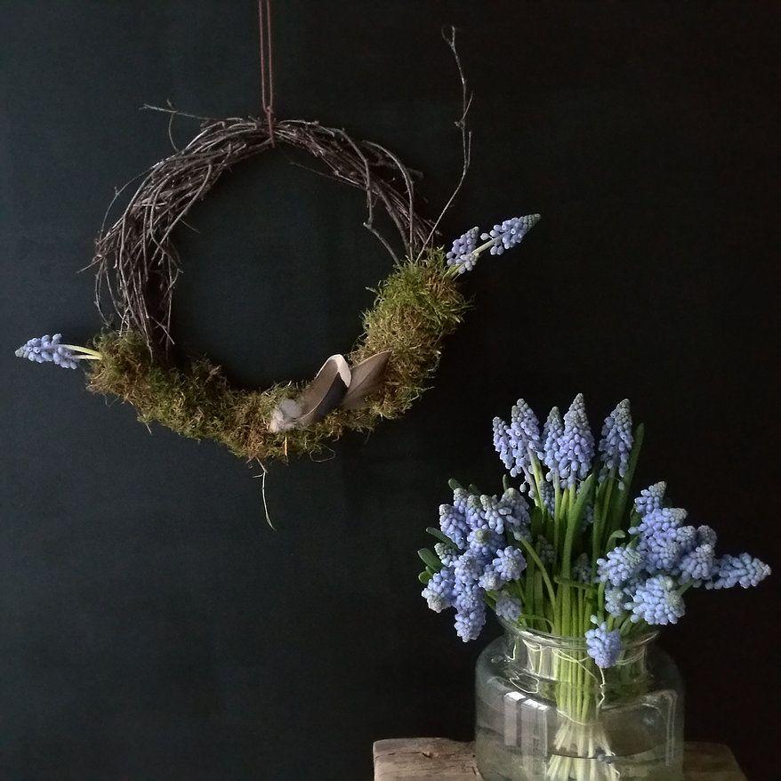 Eintragsseite Fruhlingskranz Dekorieren Blumen