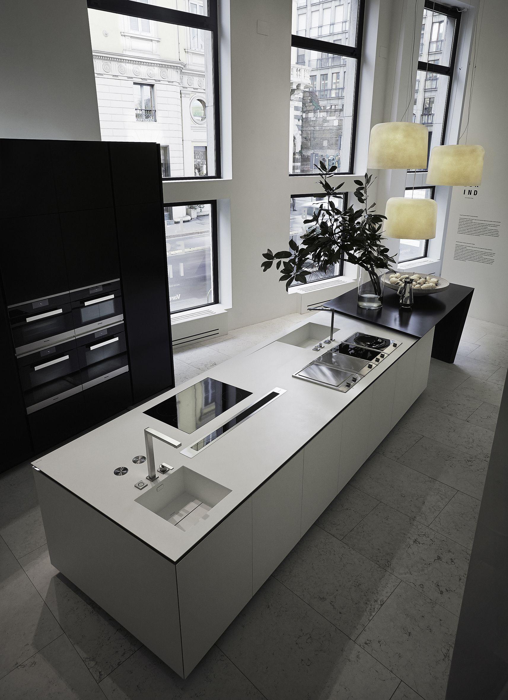 Sharp libeskind ba o cocinas dise o de cocina y cocina minimalista - Disenador de armarios ...