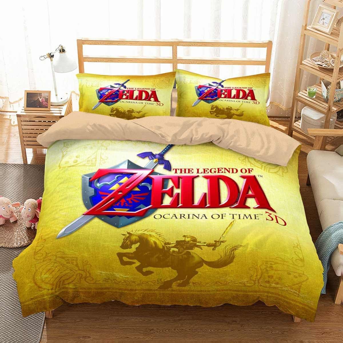 030c3e2bdce8 3D Customize The Legend of Zelda Bedding Set Duvet Cover Set Bedroom Set  Bedlinen