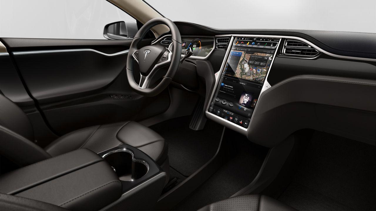 Tesla S Black Interior With Images Tesla Model S Tesla Motors Tesla Interior