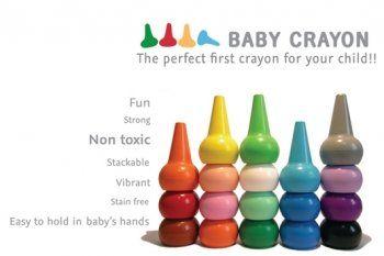 Primärfarben playon crayon primärfarben wachsmalstifte 12 stück stapelbar