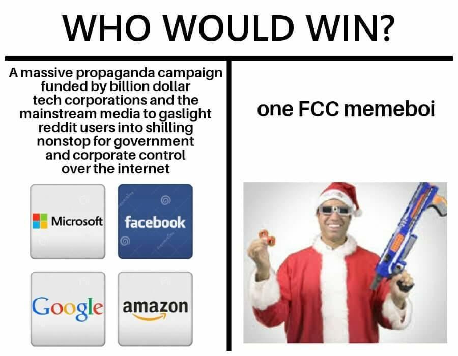Who Would Win Winning Meme Net Neutrality Memes