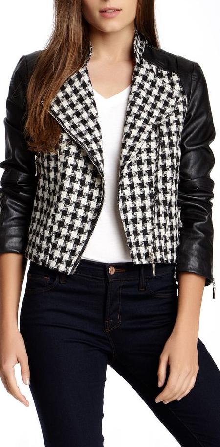 houndstooth jacket