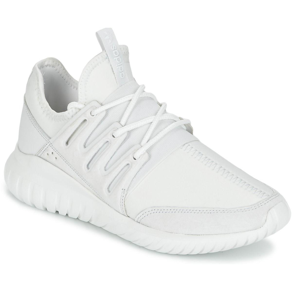 Adidas Tubular pas cher blanche