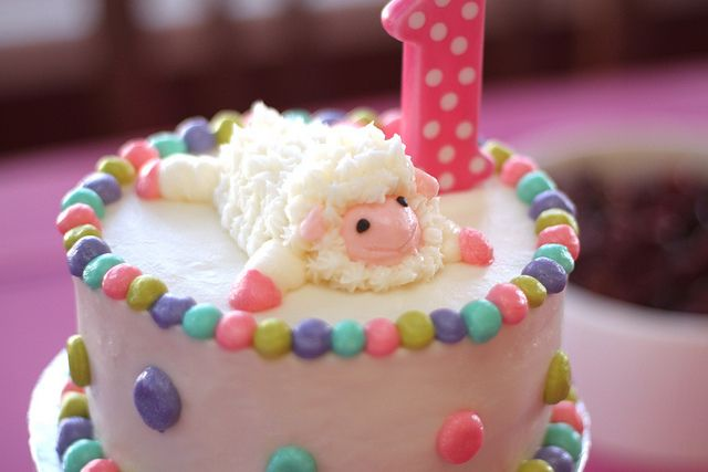 Remarkable Lamb Cake Girls Birthday Party Themes Cake Birthday Cake Birthday Cards Printable Inklcafe Filternl