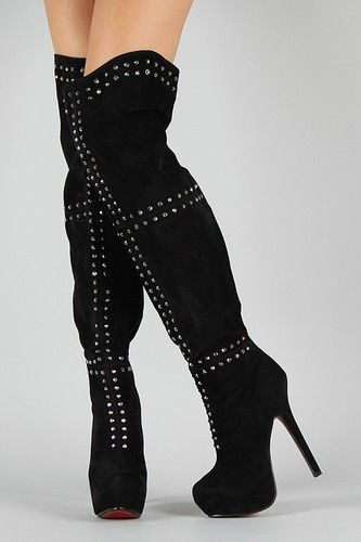 thigh high boots with spikes   Gommap Blog