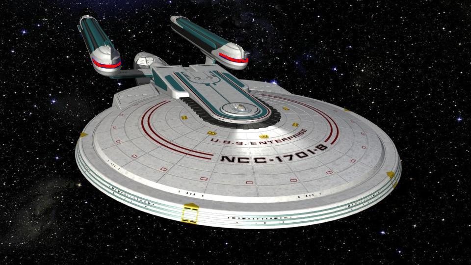 Figura Nemesis Nave Enterprise E Nave espacial Star Trek