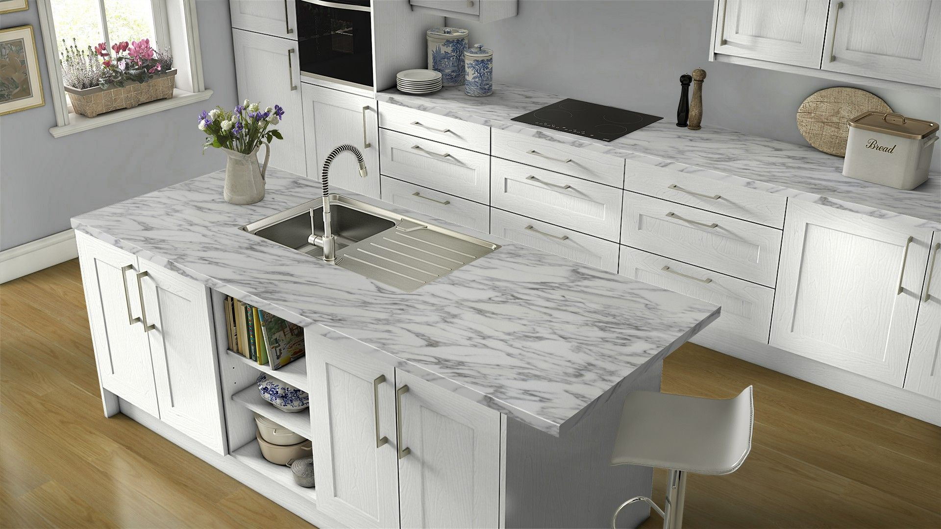 Get inspired for your kitchen renovation with Wilsonart\'s free ...