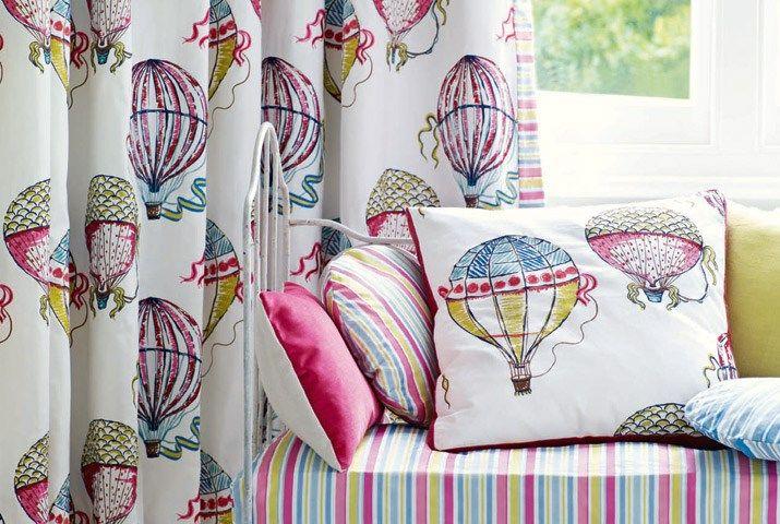 Tecidos Sanderson, colecção Beautiful Balloons. À venda na Nova Decorativa! #decoração #tecidos #homedecor #fabrics #Sanderson