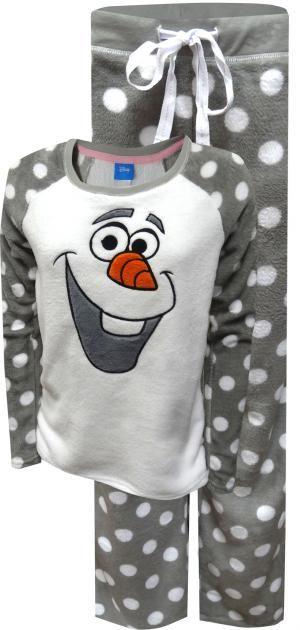 aeadd62de8 Disney Frozen Olaf Soft and Fuzzy Plush Pajama