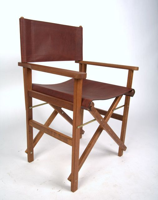 Leather Directors Chair Rugged Luxury Great Australian Made Products