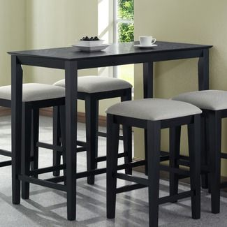 Bar Style Table With Images Kitchen Table Settings Tall