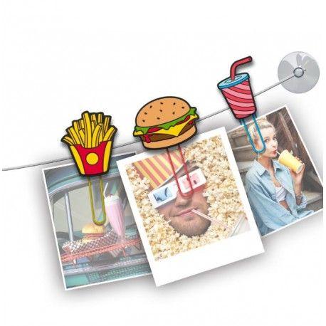 Guirlande photos - Clipit fast food