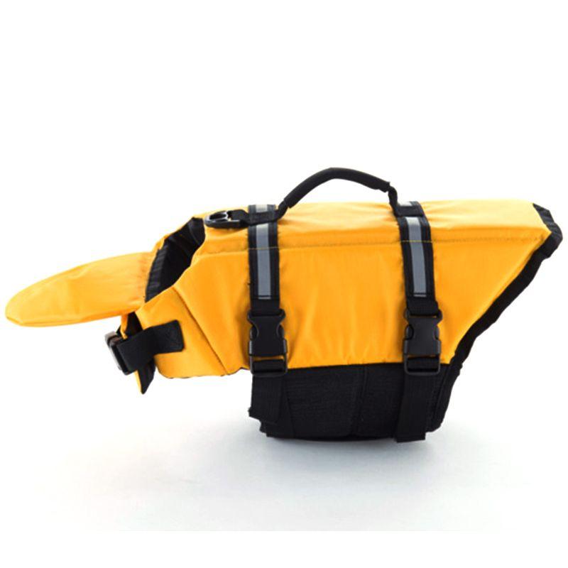 Dog Life Jacket Vest Dog Life Preserver Summer Dog Swimwear Safety Clothing for All Sizes  P40