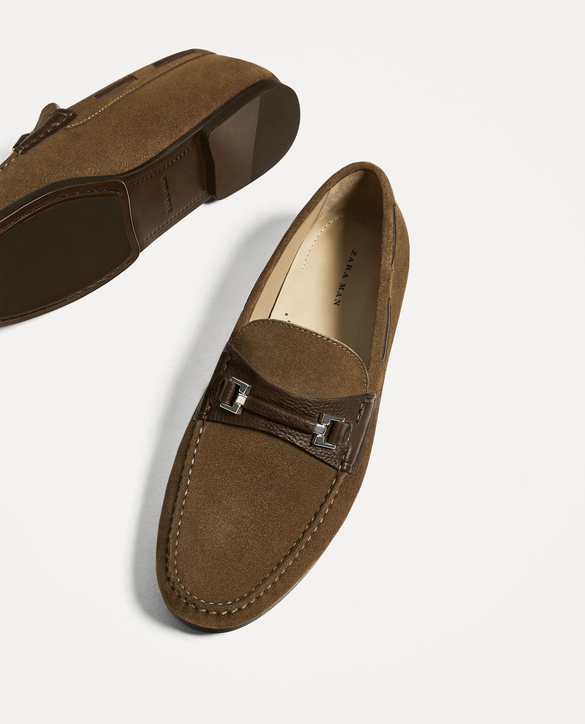 Calzado Marrón Cosas Zapatos Hombre Piel Hombre Mocasín Aplique xgqCwI5t