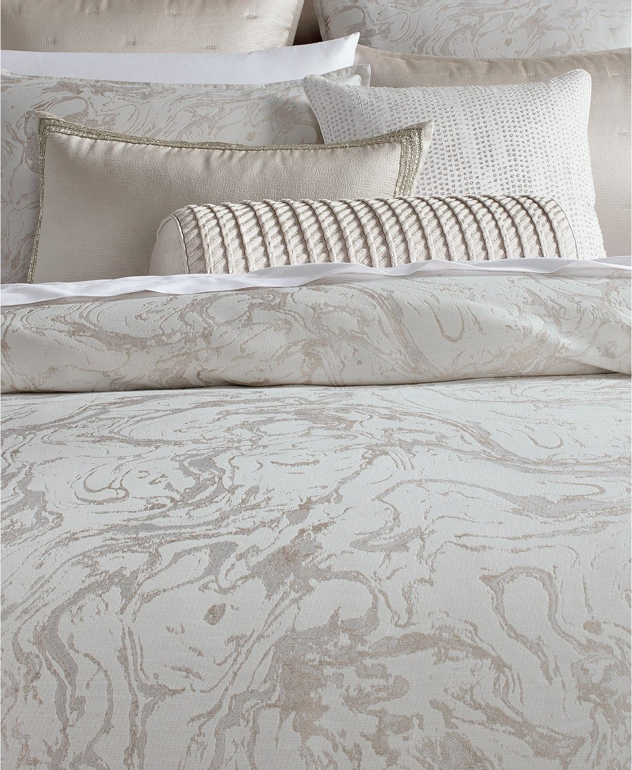 Hotel Collection Marble Duvet Covers Created For Macy S Reviews