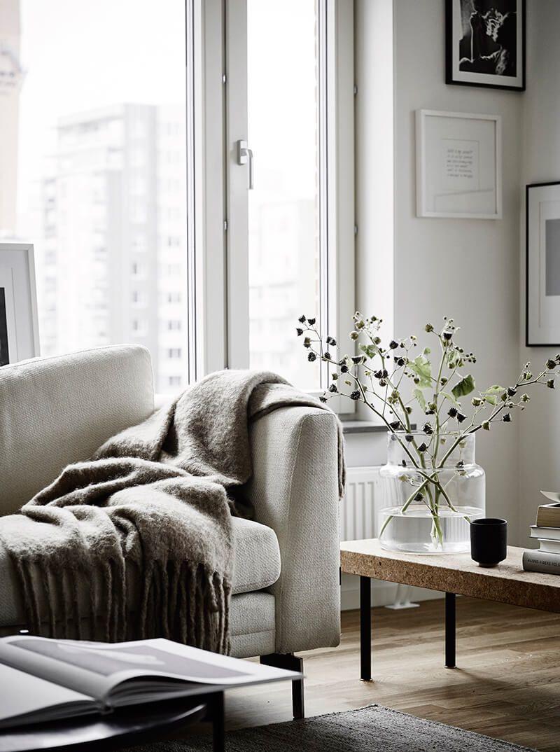 Un petit espace bien aménagé au style scandinave | Home ...