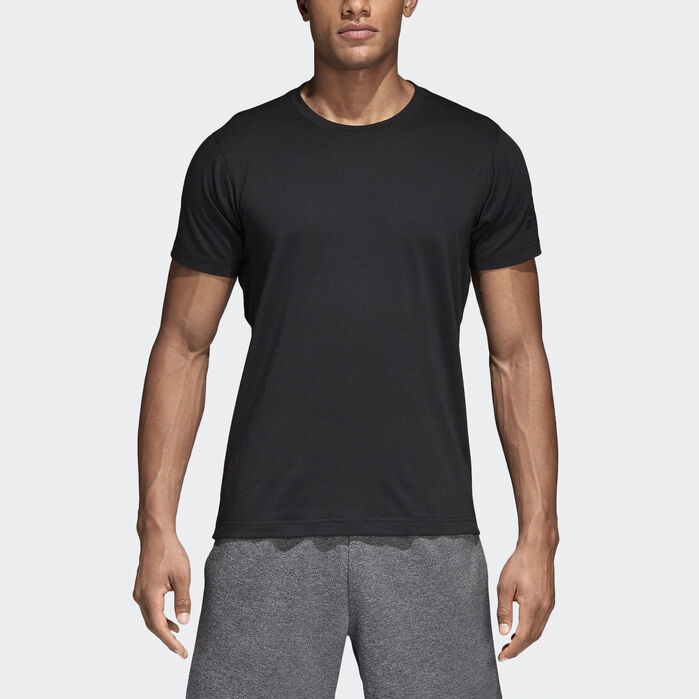 fc086337a2 adidas FreeLift Prime Tee in 2019 | Products | Black adidas, Mens ...