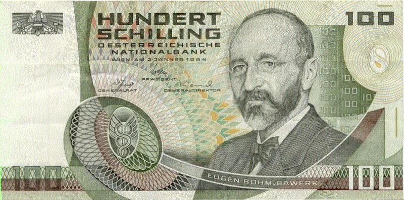 Austrian Currency Bank Notes Banknote Collection Austria