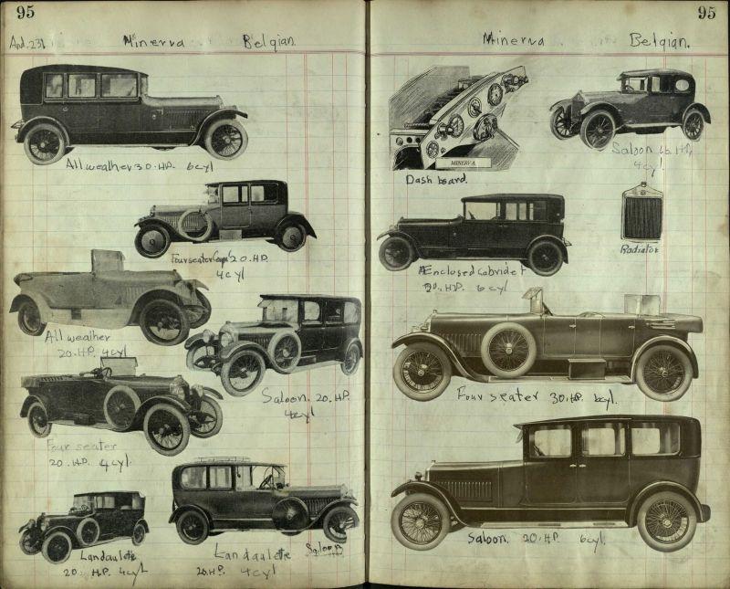 PreWar Car scrapbook, Minerva cars | Old-Timer@I | Pinterest ...