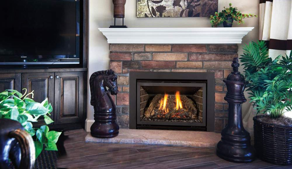 Energy Efficient Gas Fireplace Inserts Part - 26: The Chaska 25 Is Kozy Heatu0027s Smallest Gas Fireplace Insert, With An  Electronic Ignition Pilot System U0026 Traditional Brick Refractory With Many  Options Of ...