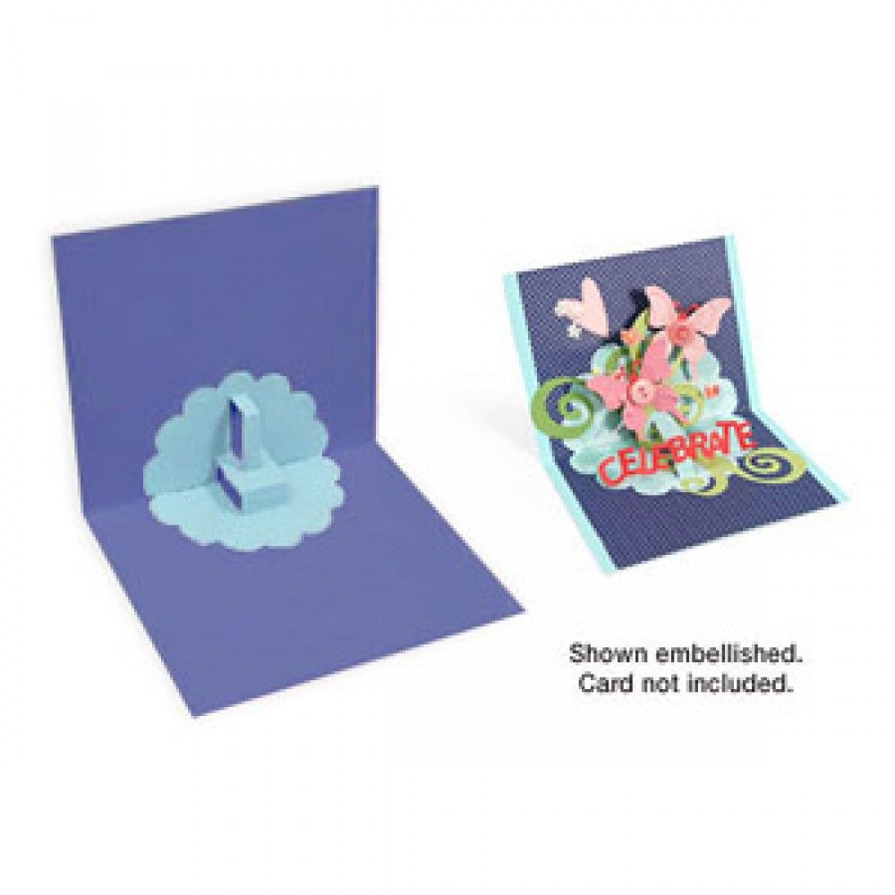 Sizzix Bigz Die - Card, Scallop Circle 3-D (Pop-Up ...