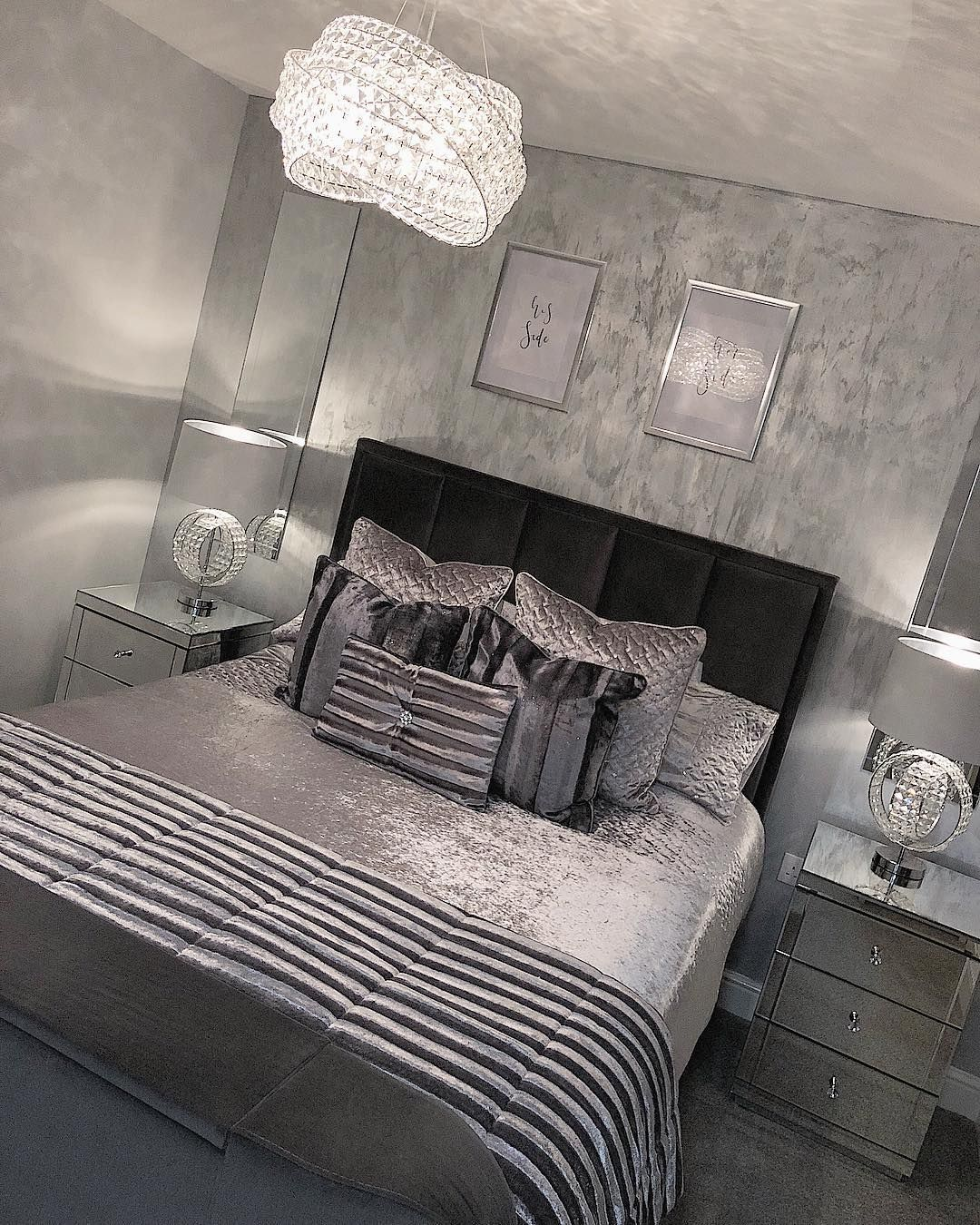 50 shades of gray | Bed, Bedroom decor, Decor