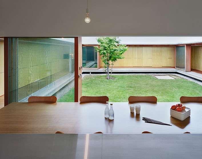 Room The Cloister Minimalist Japanese House Design By Tezuka