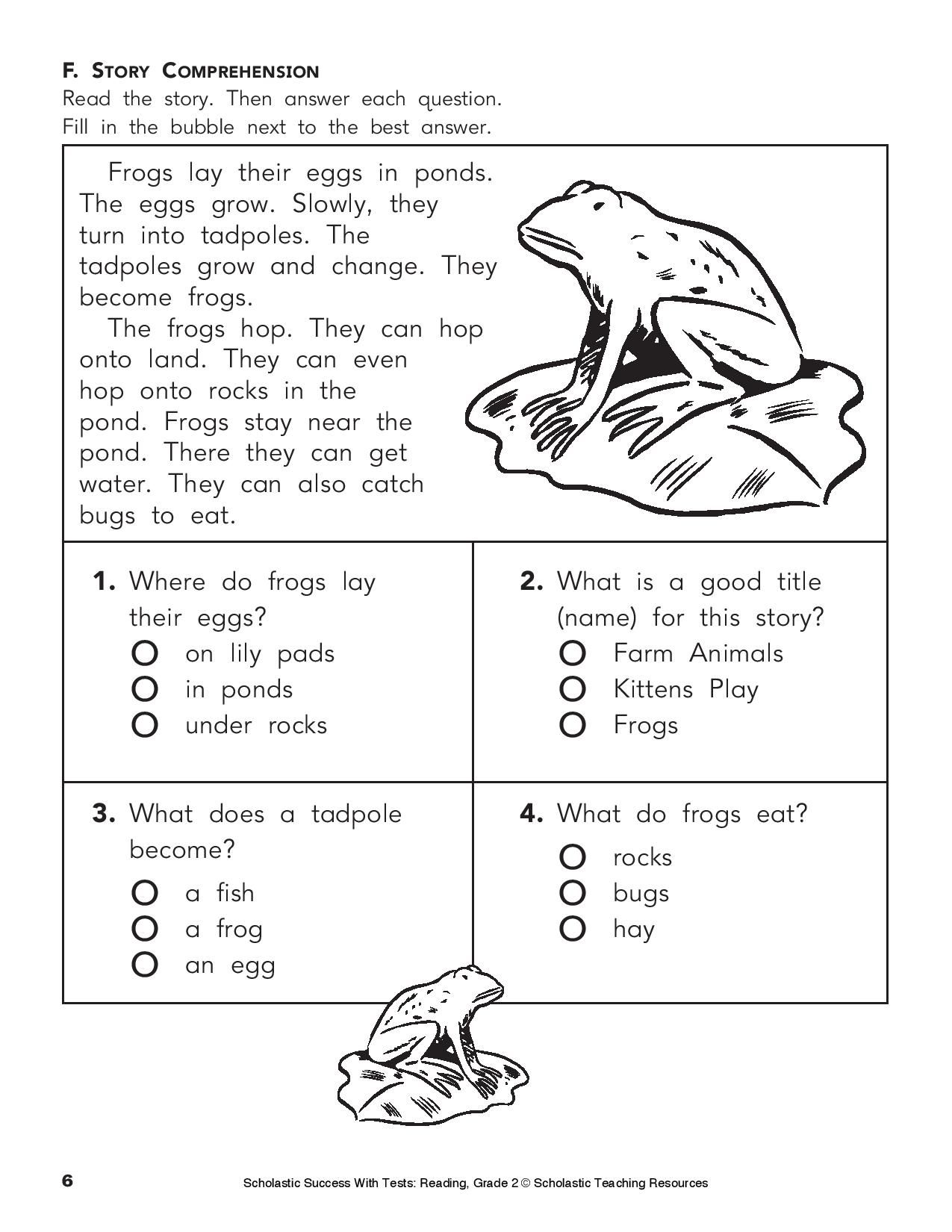 Give Your Child This Printable Reading Practice Test On