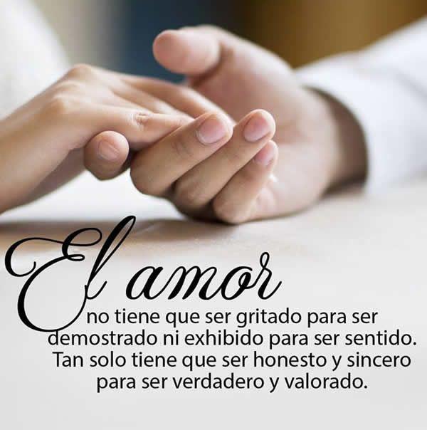 Un Amor Honesto Y Sincero Poemas De Amor Las Mejores Imagenes De