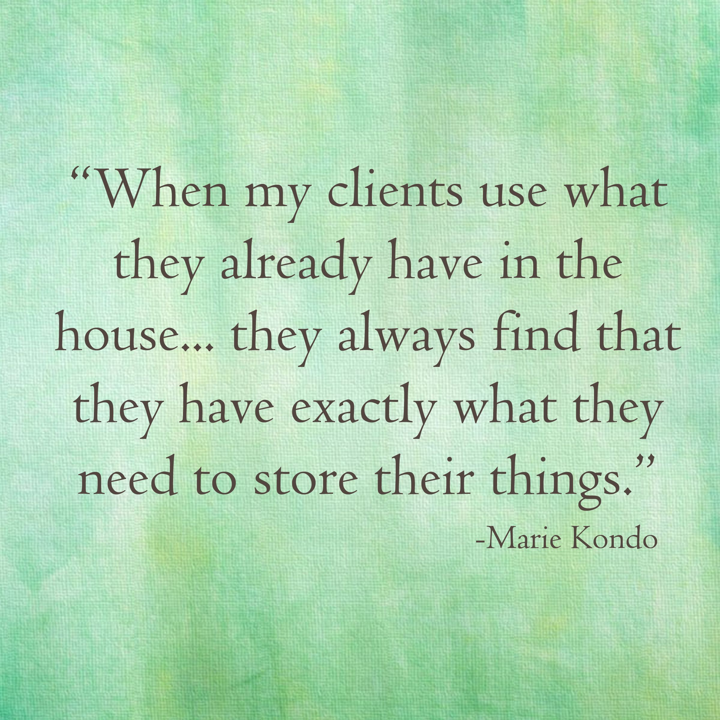 KonMari quotes Marie Kondo | KonMari method | Pinterest ...