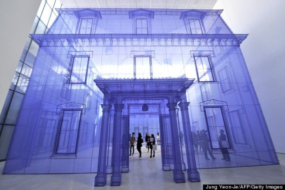 Home Within Home Fabric Installation Seoul Do Ho Suh Installation Art Do Ho Suh Art And Architecture
