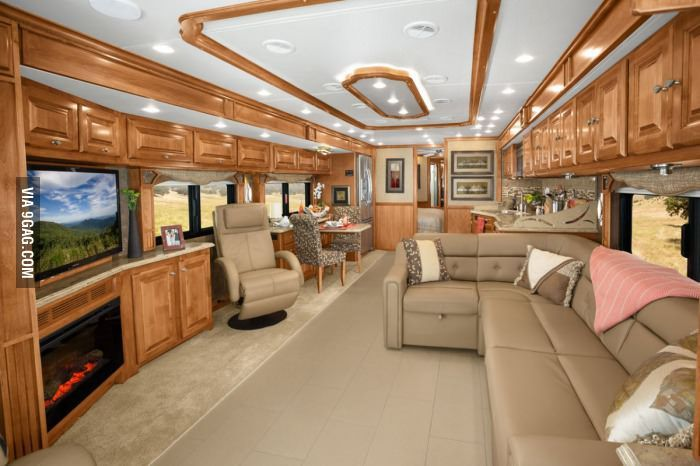 This Is The Inside Of An Rv Rvs Interior Rv Interior Remodel