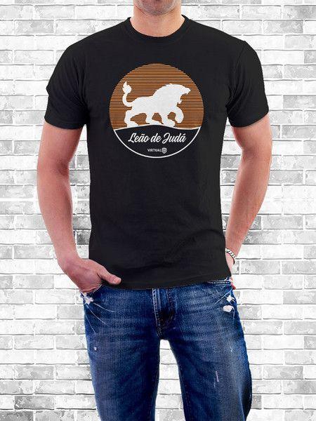 71bc0eec2 Camiseta Leão de Judá