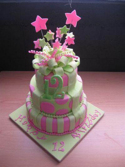 Strange 12Th Birthday Cake 12Th Birthday Cake Cake Happy 12Th Birthday Birthday Cards Printable Trancafe Filternl