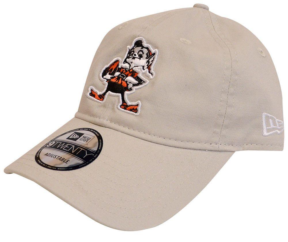New Era Cleveland Browns NFL Hard Knocks Retro Cotton Strapback Hat ... 1991633d8