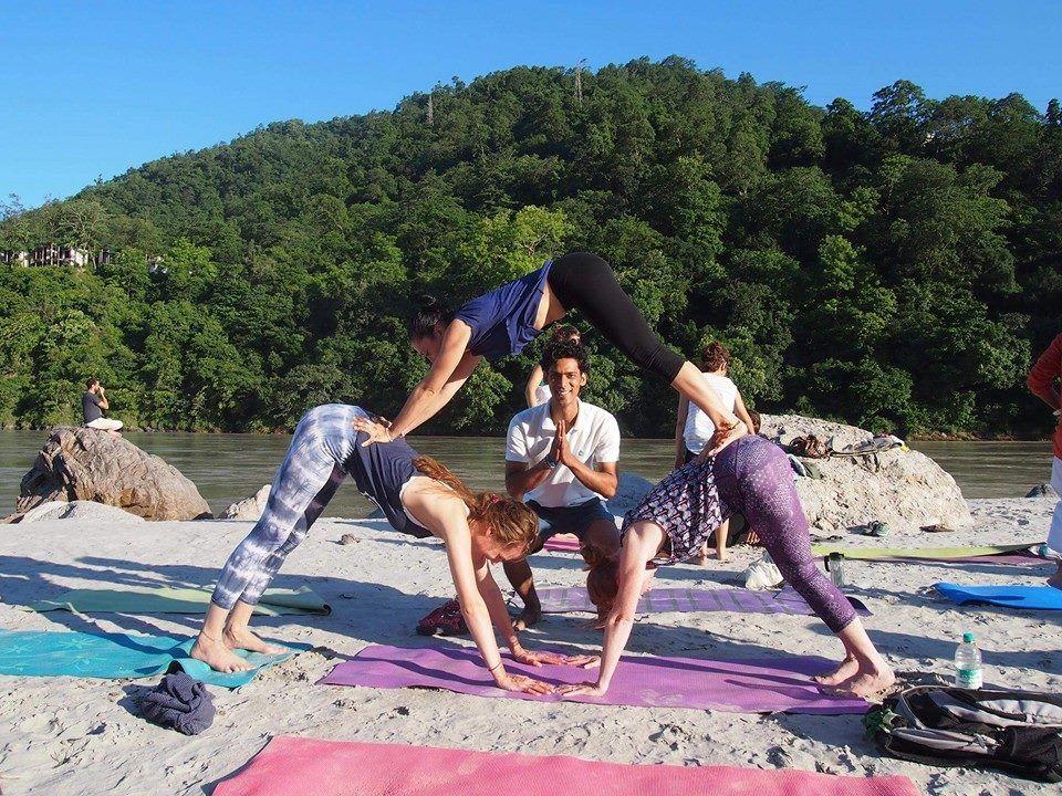 St. Johns School Trivandrum India Yoga - Children Beyond
