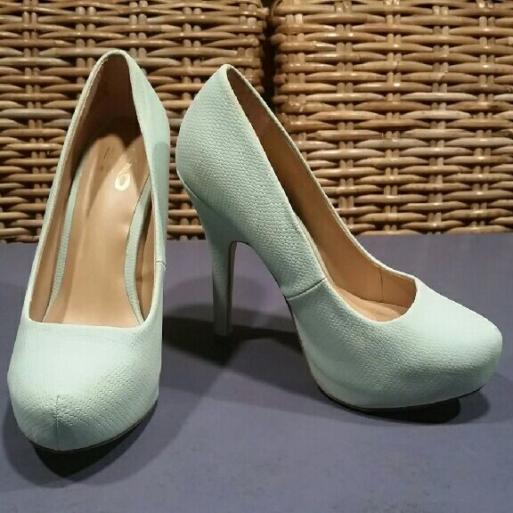 Teal Platform Heels - Dsw Mix No. 6