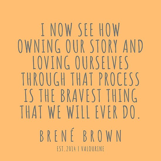 1  Brené Brown Quote Series    190615 Poster by QuotesGalore