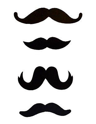 photobooth mustache template 2 | Vorlagen | Pinterest | Partydeko ...