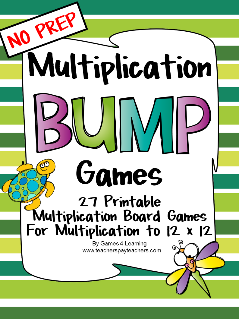 Multiplication Bump Games: Multiplication Games for Multiplication ...