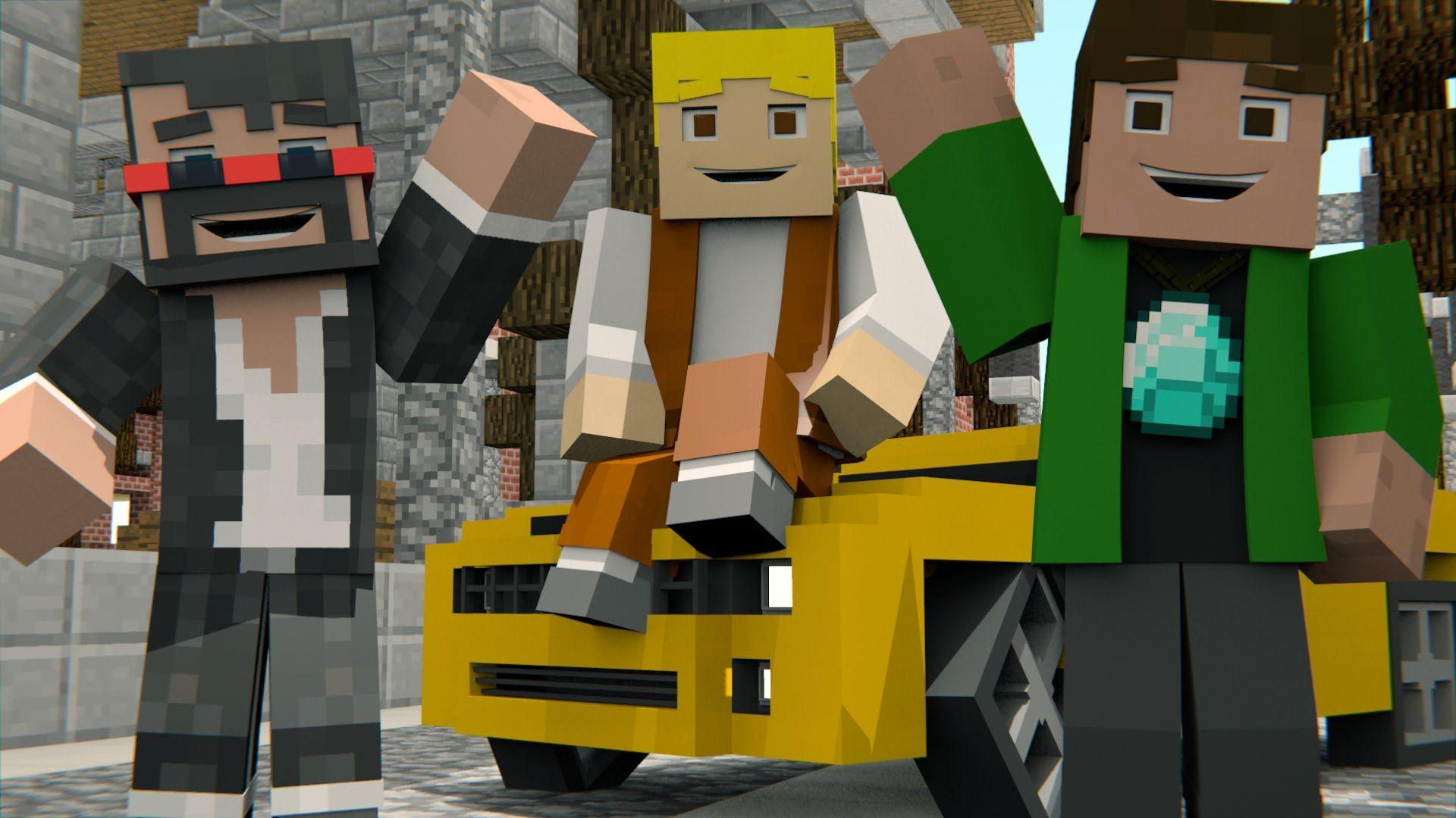 MINECRAFT SONG 'Minecraft Life' Animated Minecraft Music